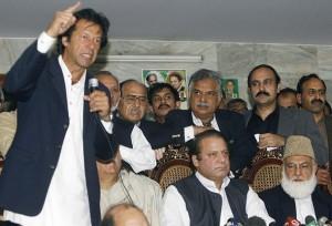 Former Pakistani prime minister Nawaz Sh